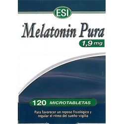 Melatonina Pura 1.9mg (120 microtabletas)